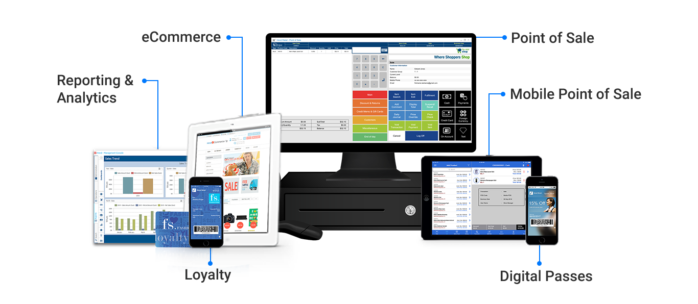 iVend Retail Omni-channel | POS, Mobile POS, Ecommerce